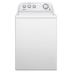 3.6 cu. ft. Top Load Washer with Wide Opening Lid - white