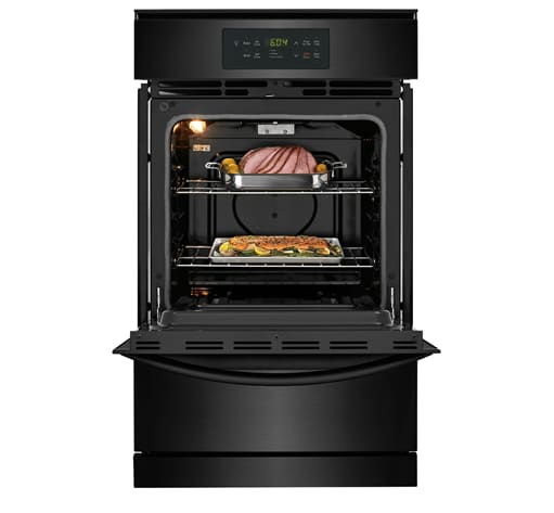 Ffgw2426ub Frigidaire 24 Single Gas Wall Oven Black
