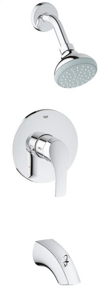 Eurosmart Pressure Balance Valve Bathtub/Shower Combo Faucet