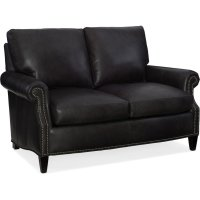 Bradington Young Rodney Stationary Loveseat 8-Way Tie 549-75 Product Image