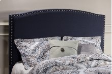 Kerstein Fabric Headboard - Queen - Headboard Frame Not Included - Navy Linen