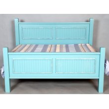 "#491 Hamilton Bed Headboard 48""h Footboard 31""h"