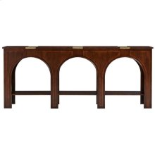 Havana Crossing - Portico Console In Colonial Mahogany