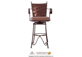 "30"" Swivel & Tilt Barstool w/Arms"