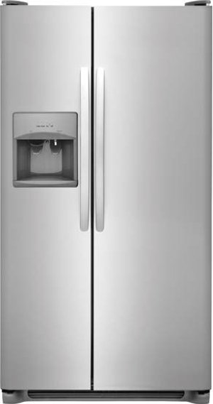 Crosley Side By Side Refrigerator - Stainless