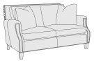 Normandy Loveseat in Mocha (751) Product Image