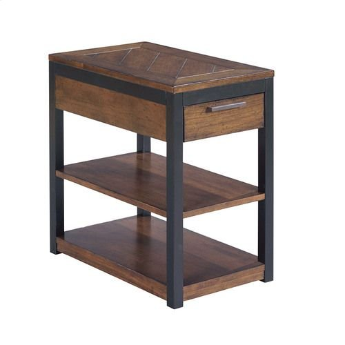 Franklin Charging Chairside Table