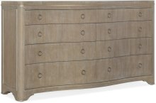 Modern Romance Eight-Drawer Dresser