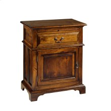 Nightstand w/ One Drawer and One Door
