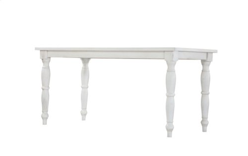 Emerald Home Abaco Gathering Table-country White D848-13