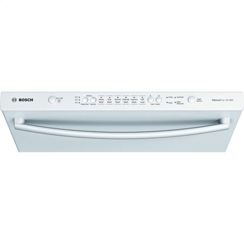 "24"" Bar Handle Dishwasher Ascenta- White (Scratch & Dent)"