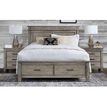 GLACIER POINT Queen Storage Bed