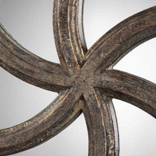 Spiralis Round Mirror