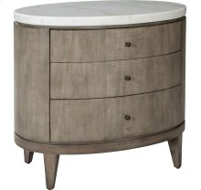 ED Ellen DeGeneres Broussard Night Stand with Stone Top