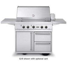 """41"""" Ultra-Premium T-Series Grill - VGBQ (41"""" wide with three standard 25,000 BTU burners (LP/Propane))"""
