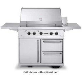 """41"""" Ultra-Premium T-Series Grill - VGBQ (41"""" wide with three standard 25,000 BTU burners (Natural Gas))"""