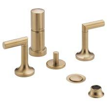 Two-handle Bidet Faucet