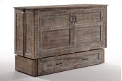 Poppy Murphy Cabinet Bed in White Bark finish
