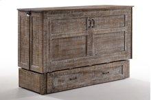 Poppy Murphy Cabinet Bed in White Bark finish