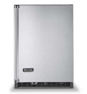 "Viking Blue 24"" Wide Beverage Center with Ice Maker - VURI (Professional model)"