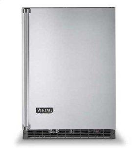 "White 24"" Wide Beverage Center with Ice Maker - VURI (Professional model)"