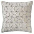 Deja Vu Pillow, PLATINUM, 22X22 Product Image