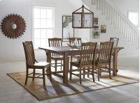 Dining Table - Medium Oak Finish Product Image
