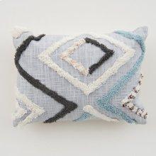Reese Pillow - Blue