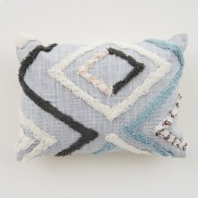 Reese Pillow - Blue