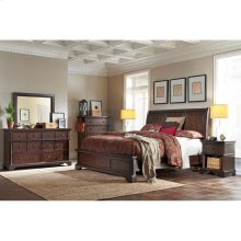 King/Cal King Sleigh Headboard
