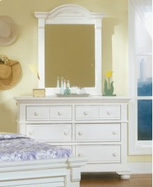 Vertical Mirror and Double Dresser