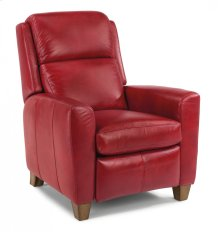 Dion Leather Power High-Leg Recliner
