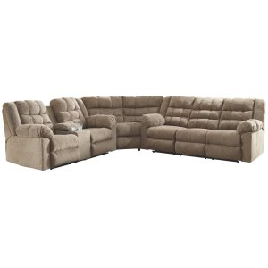 AshleySIGNATURE DESIGN BY ASHLEYWorkhorse 3-piece Reclining Sectional