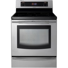 Hybrid Induction Electric Range