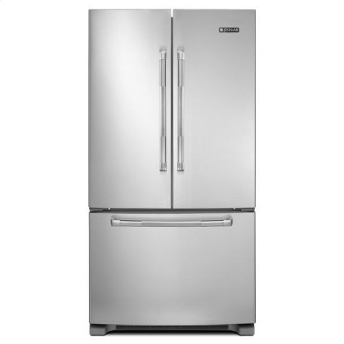 """Pro Style Stainless Jenn-Air® 69"""" Counter-Depth, French Door Refrigerator with Internal Water/Ice Dispensers"""