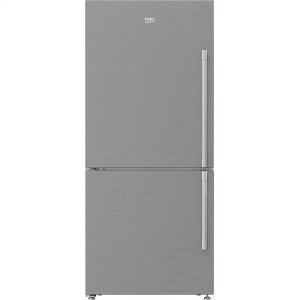 "Beko30"" Counter Depth Bottom Freezer Refrigerator with Left Hinge and Ice Maker"