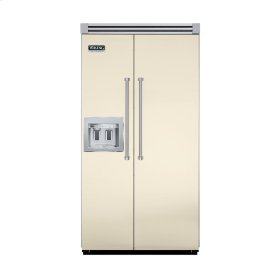 """Biscuit 42"""" Quiet Cool™ Side-by-Side with Dispenser - VISB Tru-Flush™ (42"""" wide)"""