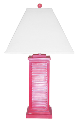 PR151-RD Shutter Table Lamp