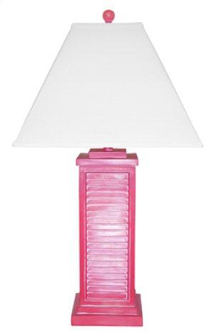 PR151-RD Shutter Table Lamp