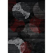 Platinum 1284 Black Red 6 x 8