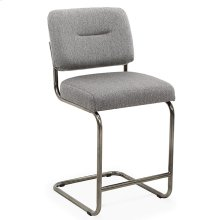 Breuer Counter Chair (black nickel)