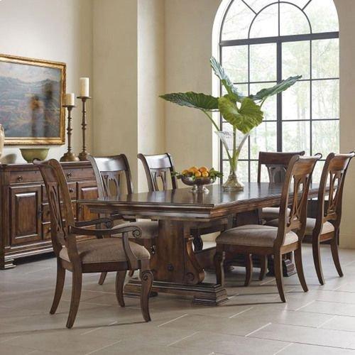 Portolone Carusso Trestle Table Complete