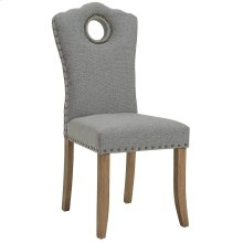 Elise Side Chair in Grey/Light Grey, 2pk