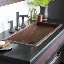 Antique Copper Trough 36