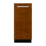 """Jenn-AirPanel-Ready 15"""" Undercounter Ice Machine with Articulating Hinge"""