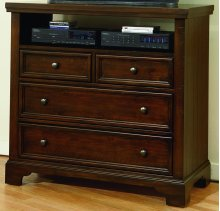 4-Drawer Media Chest
