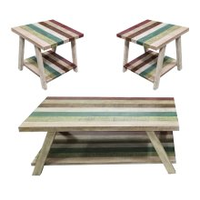 Jib Sail Coffee and End Table Set