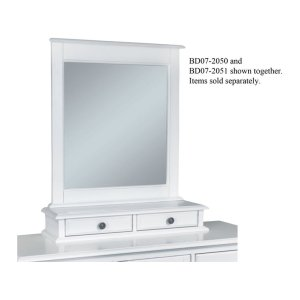 JOHN THOMAS FURNITUREMirror Base w/ 2-Drawers in Beach White