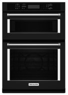 "30"" Combination Wall Oven with Even-Heat True Convection (Lower Oven) - Black Product Image"