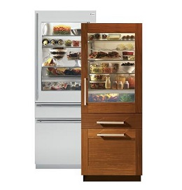 """30"""" Built-In Bottom Freezer Refrigerator with convertible drawer"""